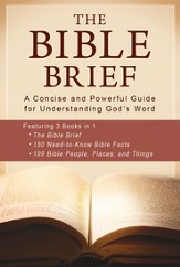 The Bible Brief: A Concise and Powerful Guide for Understanding God's Word - eBook