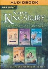 Karen Kingsbury Firstborn Collection, Abridged MP3-CD