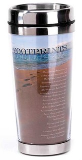 Footprints Travel Mug
