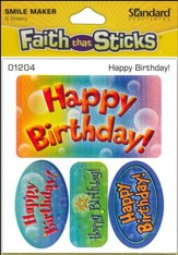 Stickers: Happy Birthday