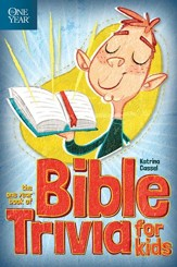 The One Year Book of Bible Trivia for Kids - eBook