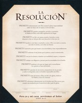 The Resolution--Frame-Ready Print, Spanish Edition The Resolution Frame-Ready Print, Spanish Edition