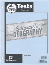 Geography Grade 9 Tests Answer Key (4th Edition)