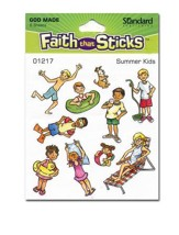 Stickers: Summer Kids