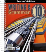 Writing & Grammar Grade 10 Teacher's Edition (4th Edition)