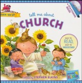 Tell Me about Church (with stickers & CD): Wonder Kids-Train 'Em Up