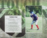 For Nothing is Impossible Athlete Player Football Photo Mat