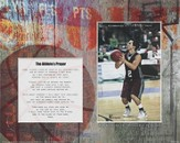 For Nothing is Impossible Athlete Player Basketball Photo Mat