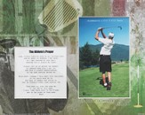 For Nothing is Impossible Athlete Player Golf Photo Mat