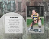 For Nothing is Impossible Athlete Player Volleyball Photo Mat