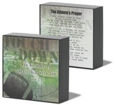 Athlete Prayer Football Plaque