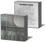 Athlete Prayer Volleyball Plaque