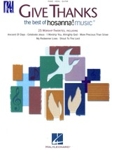 Give Thanks: The Best of Hosanna! Music, Songbook