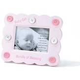 Bundle of Blessing Photo Frame, Pink