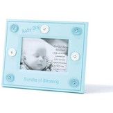 Bundle of Blessing Photo Frame, Blue