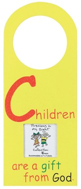 Children are a Gift From God Photo Doorhanger