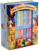Mi Primera Biblioteca: 12 Relatos de la Biblia, My First Library: Bible Stories (boxed set)