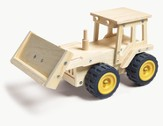 Bulldozer Wooden Craft Kit