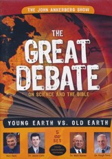The Great Debate on Science and the Bible:  Earth vs. Old Earth 5 DVD Set