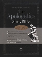 HCSB Apologetics Study Bible, Brown Bonded Leather