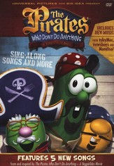 The Pirates Who Don't Do Anything: Sing-Along Songs and More, VeggieTales DVD