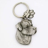 Rottweiler Pet Key Ring