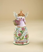 February Birthstone Angel Figurine