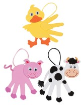 Cowabunga Farm VBS: Farm Animals Handprint, 12