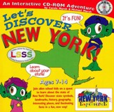 Let's Discover New York CD-ROM, Grades 2-8