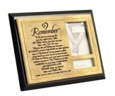 Remember Photo Frame, Black