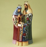 Heartwood Creek Holy Family Figurine by Jim Shore