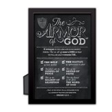 Armor of God Chalkboard Plaque