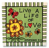 Life of Love Plaque