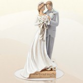 Wedding Couple Cake Topper, Legacy of Love