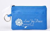 Love, Joy, Peace Wristlet