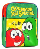 Personalized Bob and Larry VeggieTales Backpack