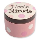 Little Miracle Keepsake Box, Pink