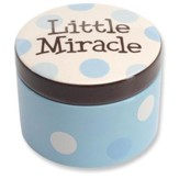 Little Miracle Keepsake Box, Blue