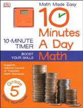 10 Minutes a Day: Math Grade 5 - Slightly Imperfect