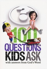 100 Questions Kids Ask with answers from God's Word - eBook