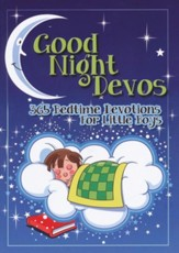 Good Night Devos: 365 Bedtime Devotions for Little Boys - eBook