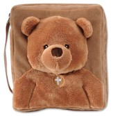 Bear Plush Cover, Brown