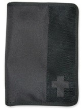 Canvas Wallet Cover, Black, Large