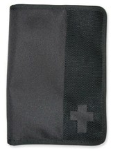 Canvas Wallet Cover, Black, Medium