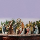 Legacy of Love Nativity, 9 Piece Set