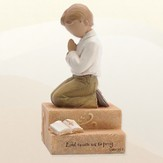 Praying Child, Boy Figurine