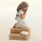 Praying Child, Girl Figurine