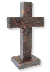 Standing Handcrafted Cross 8