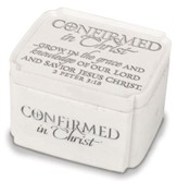 Confirmed In Christ Trinket Box