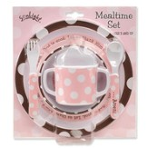 God Is Great Meal Set, Pink